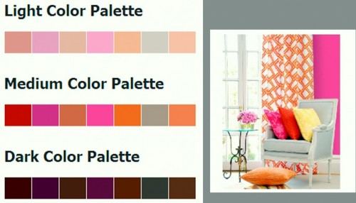 palette de couleurs,inspirations